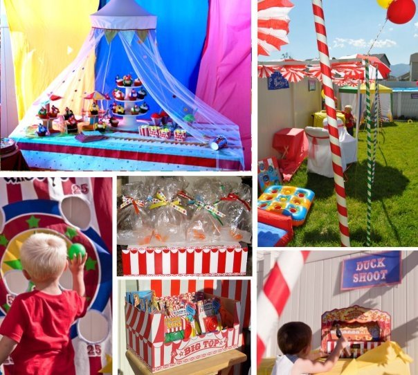 Need Ideas For My Carnival Theme B-day Party..