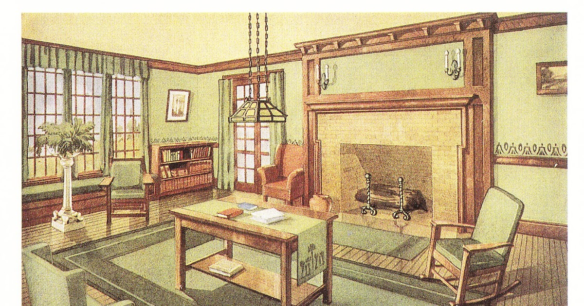 laurelhurst craftsman bungalow period living rooms