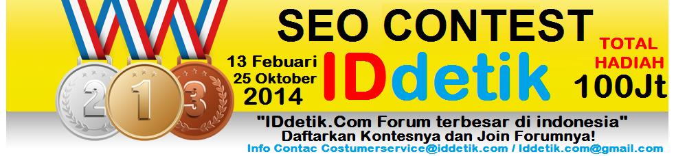 Info Kontes SEO IDdetik 2014