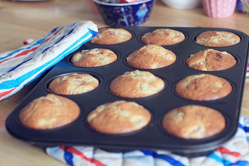 muffinid rabarberiga