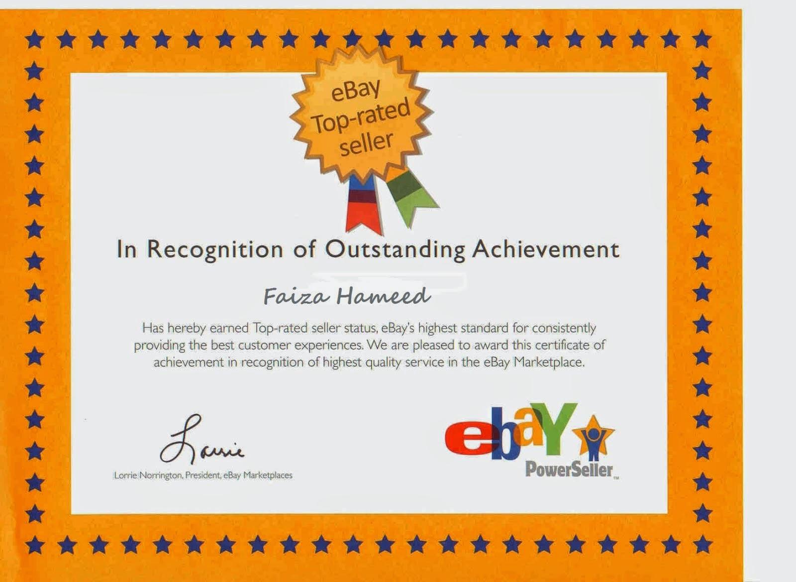 Ebay Award