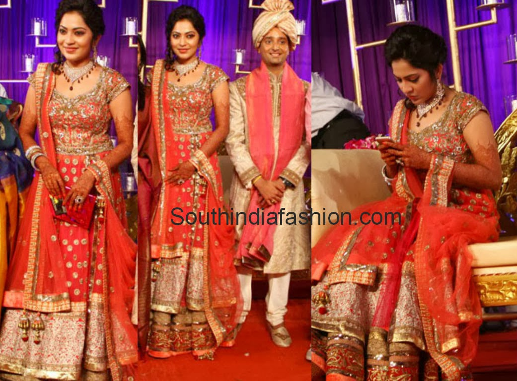 Anchor Ramya marriage reception photos