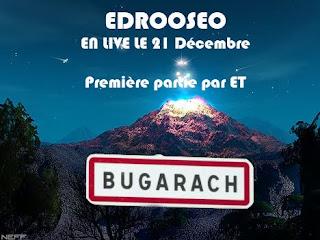 Affiche du concert de Edrooseo à Bugarach