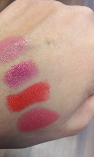 Revlon rouge edition lipstick swatches