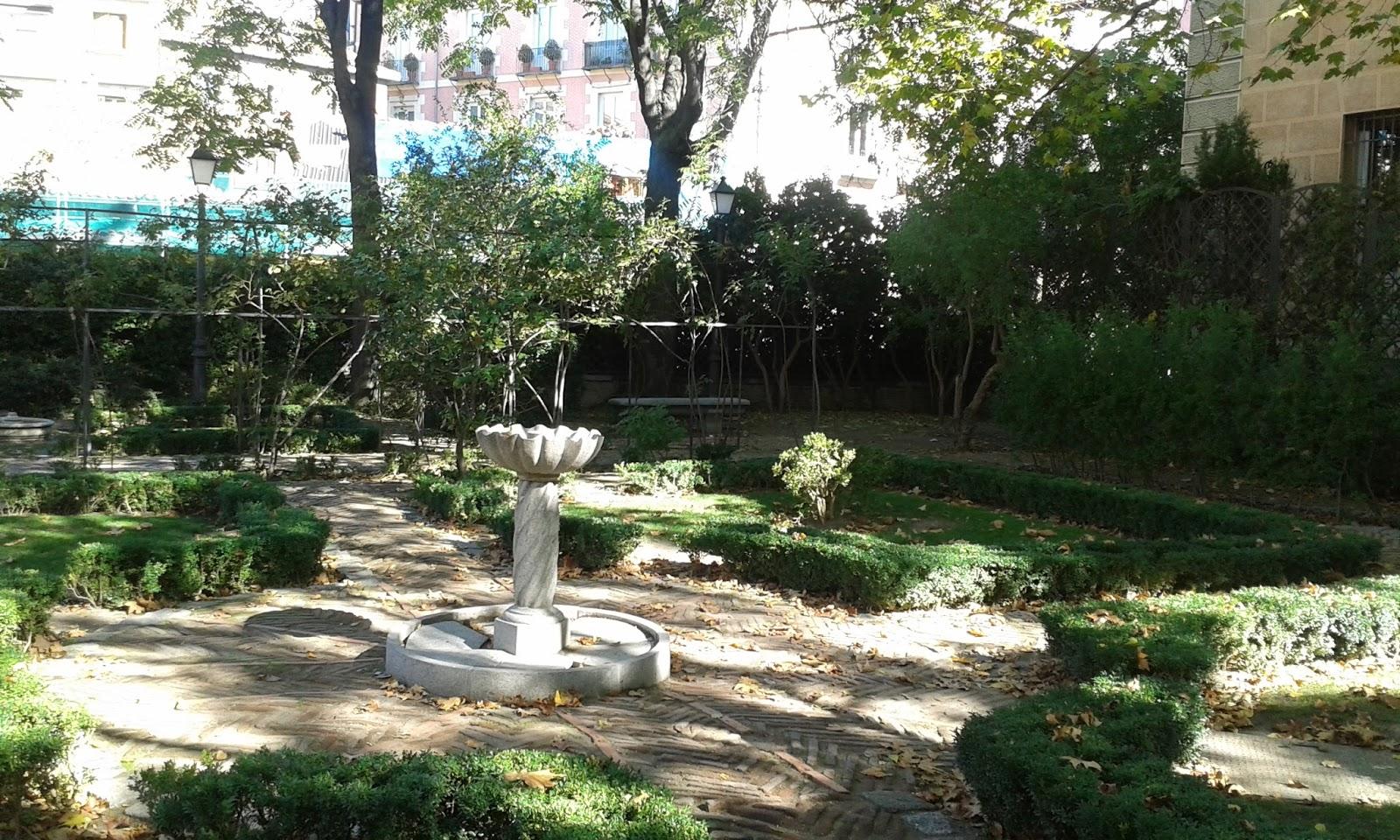 Madrid con encanto el jard n del pr ncipe de anglona y su for El jardin del principe
