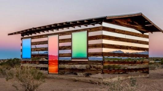Casa invisível na Califórnia: Lucid Stead