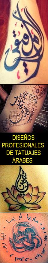 DISEÑOS DE TATUAJES ÁRABES