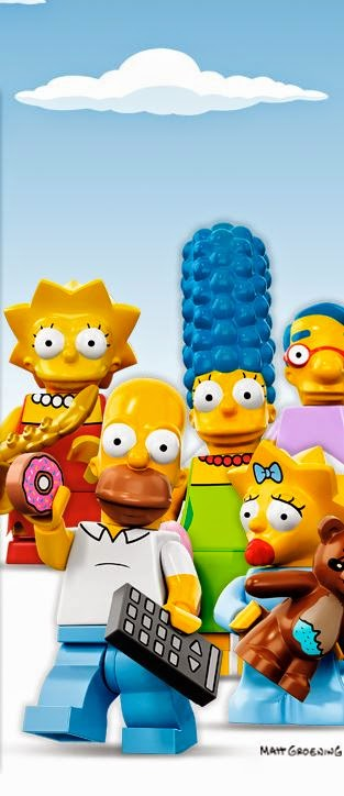 the simpsons minifigures