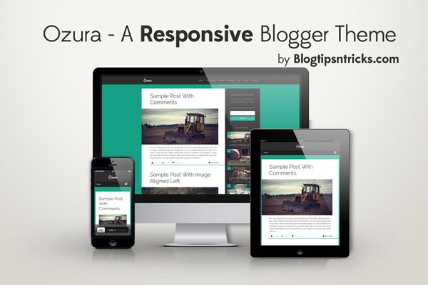 Ozura - A Responsive Blogger Template