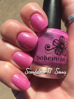 Bohemian Polish Don't Mind the Steam holo