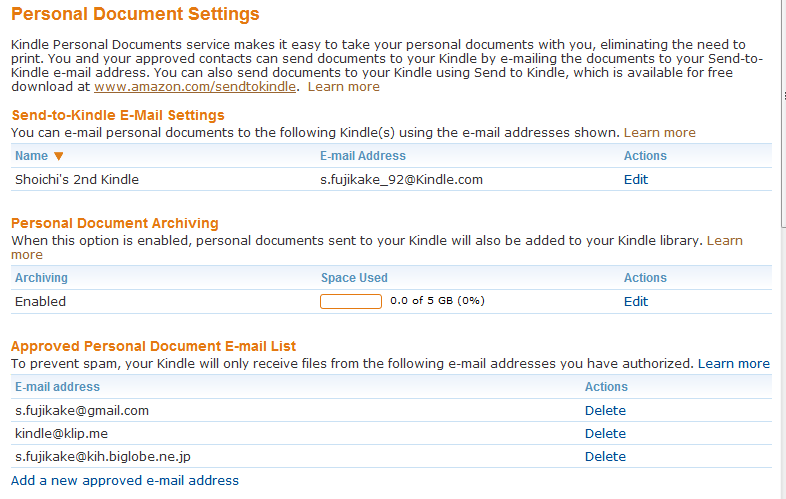 how to send a document to my kindle