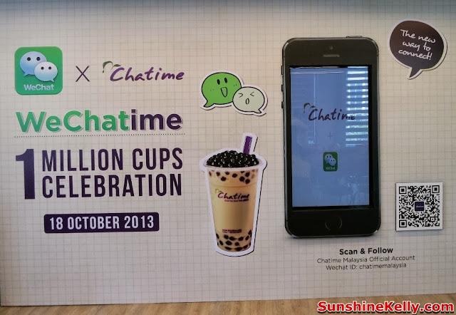 WeChatime 1 Million Cups Celebration, WeChat Malaysia, Chatime Malaysia, WeChat, Chatime, Malaysia, partnership, launch
