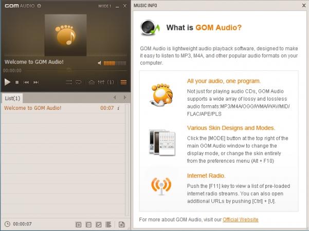 Download GOM Audio Player Terbaru 2.0.1 - TRIKIS - ZONE