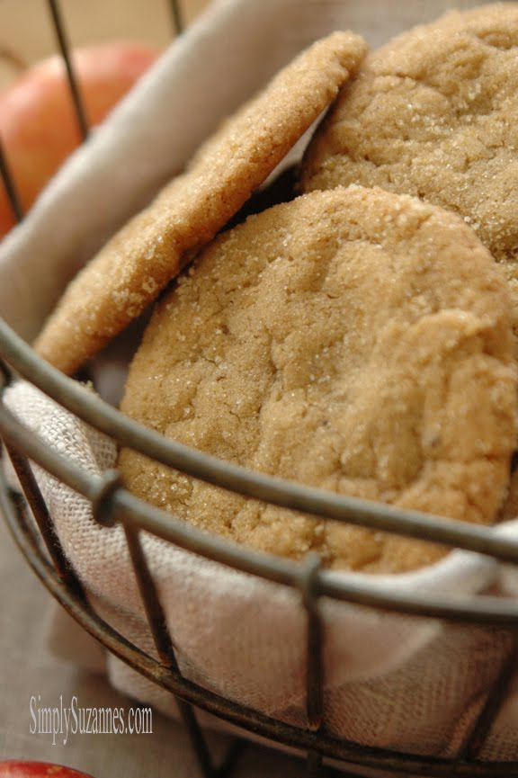 pumpkin spice browned butter cookies