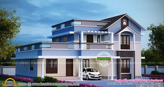 Cute double storied home