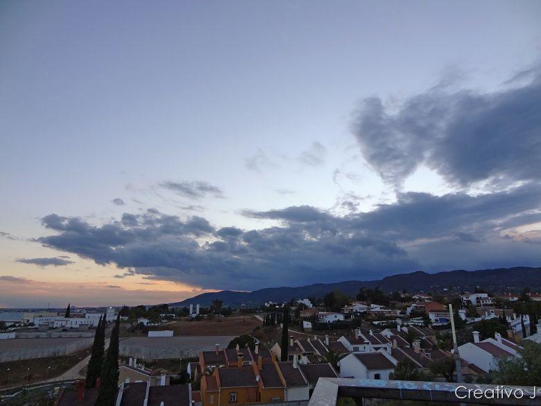 Parque asomadillas cordoba españa nubes añochecer crepusculo
