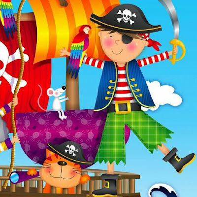 Fiesta de piratas invitaciones para imprimir gratis ideas y material gratis para fiestas y - Piratas infantiles imagenes ...