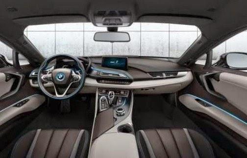 2016 BMW i9 interior
