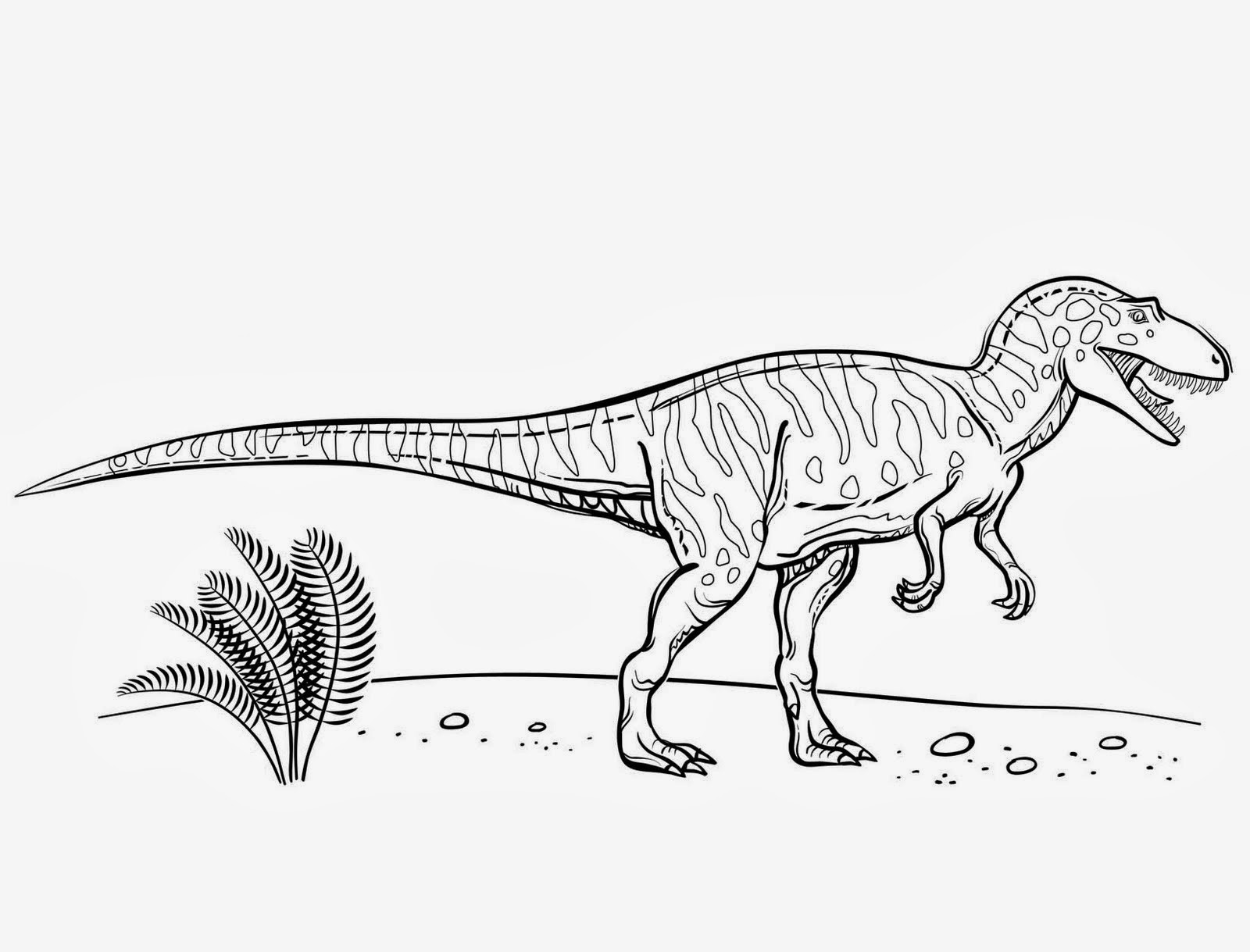 Educational dinosaur coloring pages - Educational Dinosaur Coloring Pages 42
