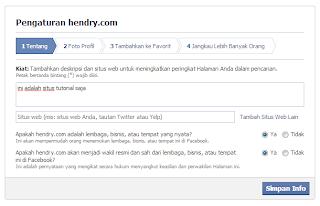 apa itu facebook fans page