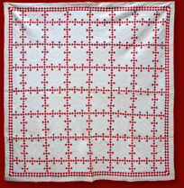 red and white double ninepatch