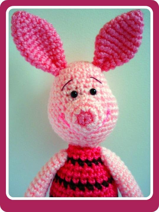 AllSoCute Amigurumis: PDF Piglet Amigurumi Crochet Pattern