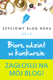 Szyciowy Blog Roku 2012