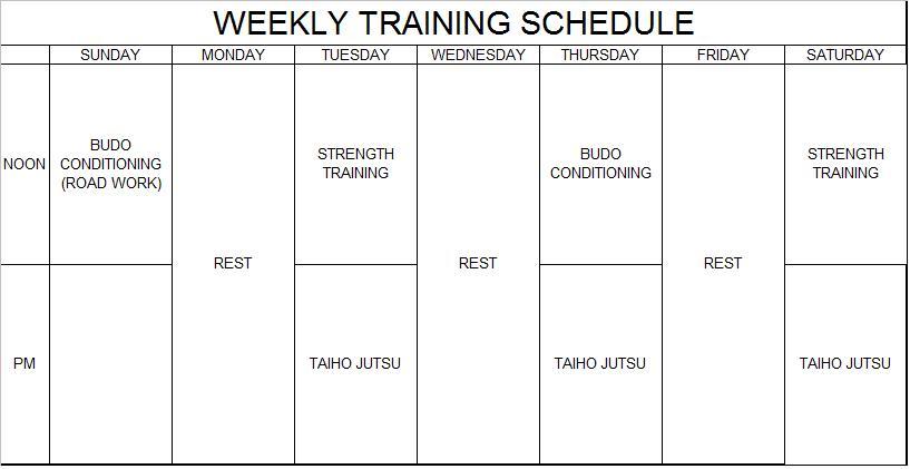 Budo Blog: Super Soldier Program Part 3 - Strength Training