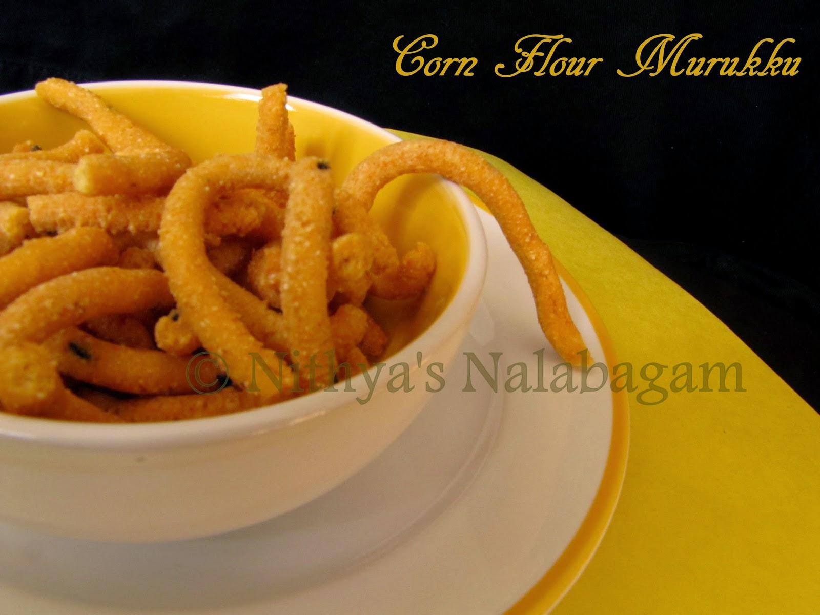 Corn flour murukku | Chola Maavu Murukku