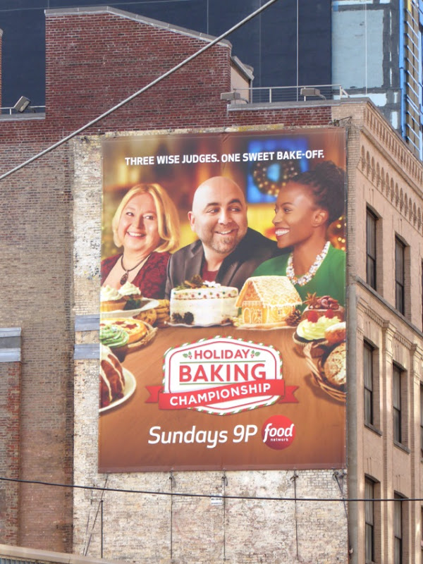 Holiday Baking Championship billboard