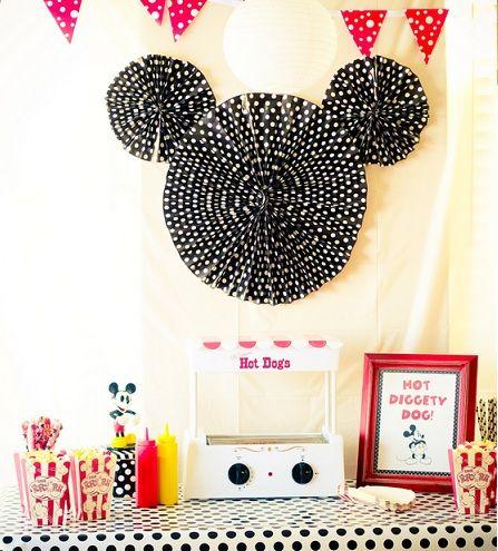 Decoración de cumpleaños de Minnie y Mickey Mouse - Imagui