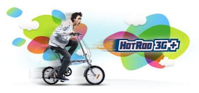 Paket internet XL HotRod 3G+