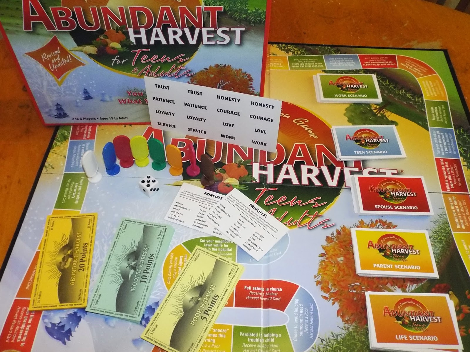 Abundant Harvest:  Teens & Adults Game