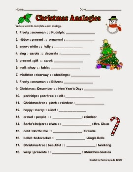 http://www.teacherspayteachers.com/Product/FREE-Christmas-Would-You-Rather-Questions-107134