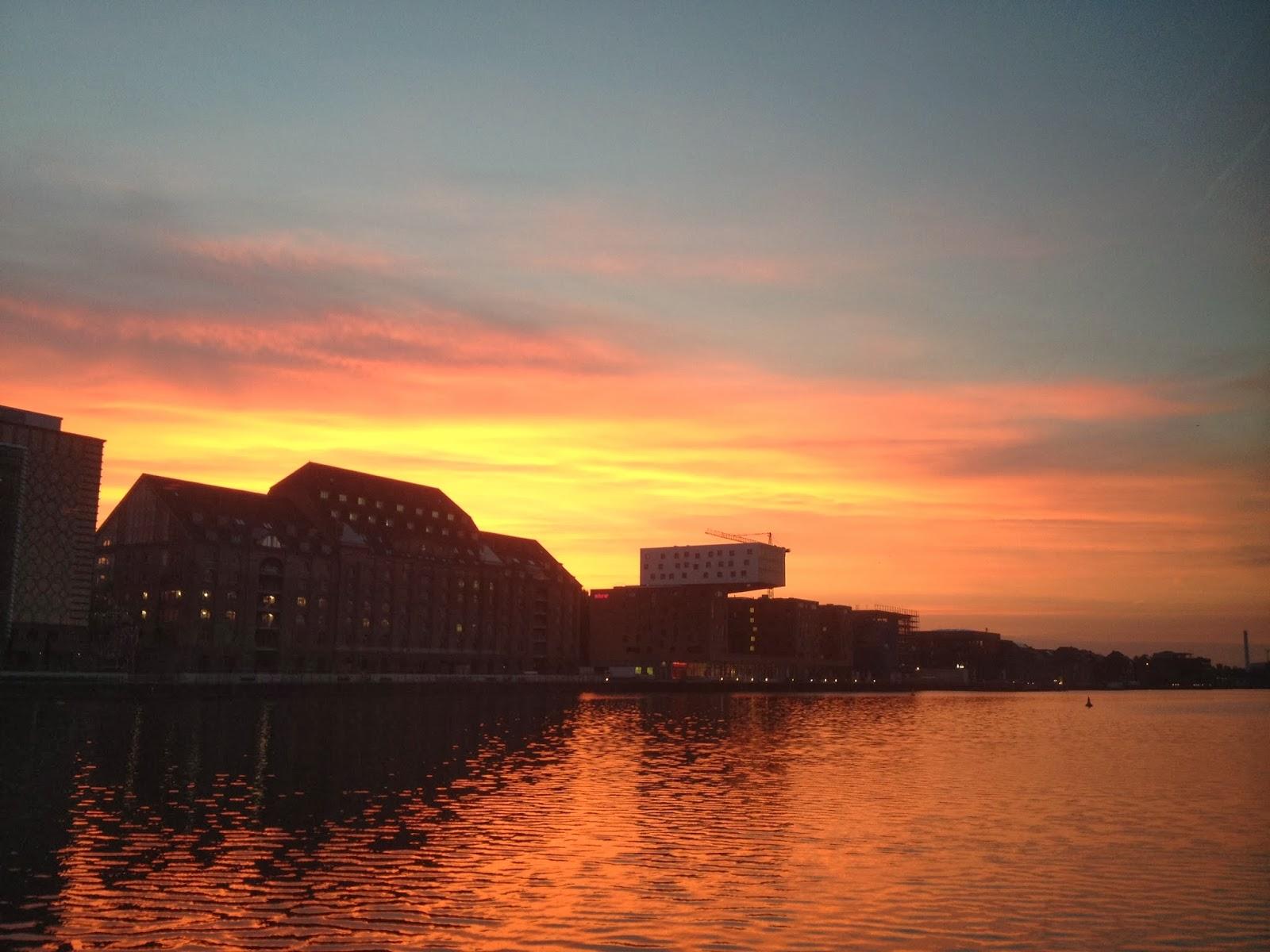 Sunrise at Watergate Club in Berlin