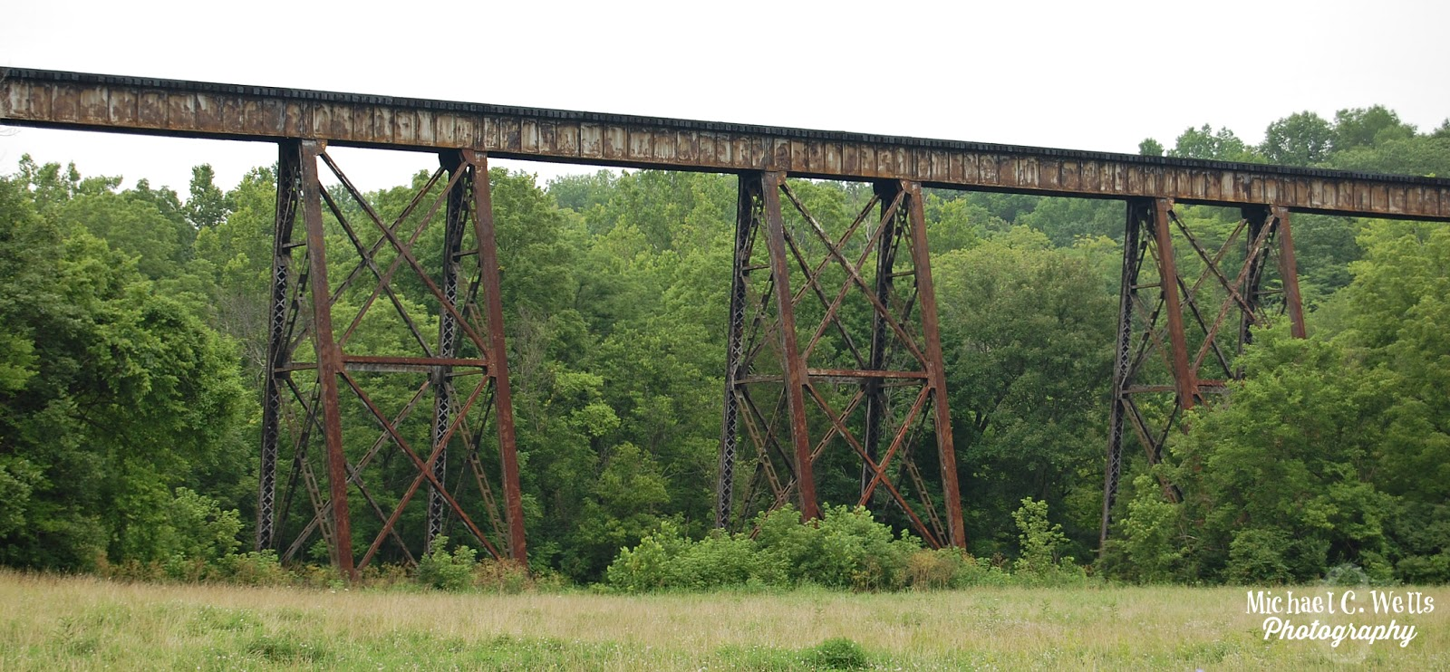 The trestle at pope lick — 9