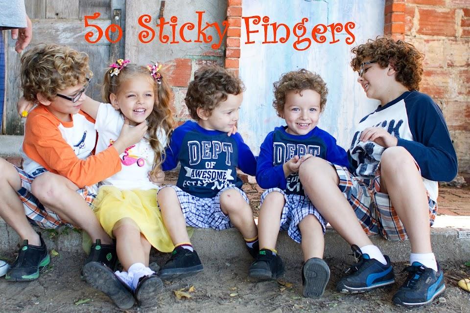 50 Sticky fingers