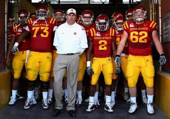 Big 12 Football: 2012 Iowa State Cyclones Football Roster