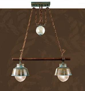 Lampara colonial, lampara salon, lampara para mesa comedor