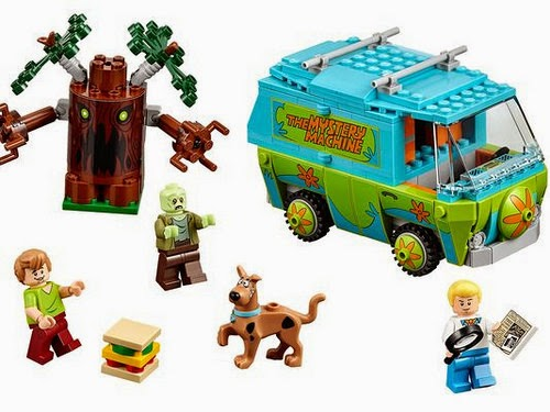 LEGO Mystery Machine official
