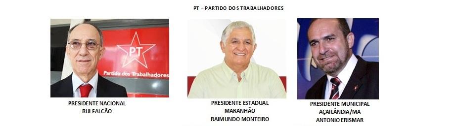 PRESIDENTES DO PT