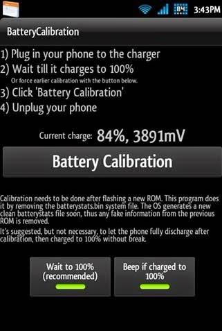 Cara Mengkalibrasi Batrai Android | andromin