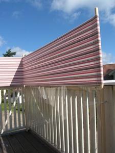 Plexiglass balkong
