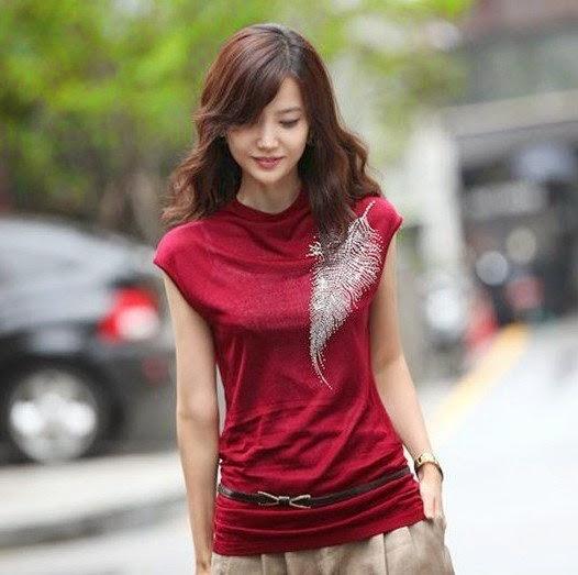 baju atasan wanita modis