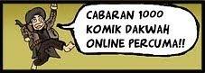 Cabaran 1000 komik Dakwah!!