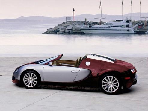 Bugatti on Bugatti Veyron