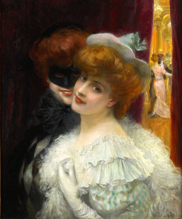 albert lynch masked ball