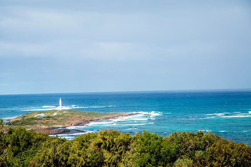 CrystalPhuong- Singapore Travel Blog- Cape Leeuwin Lighthouse from afar