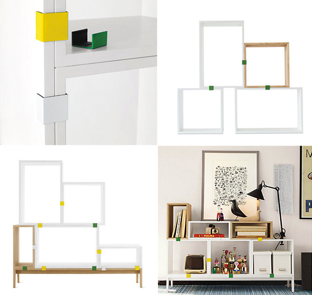 stacked shelving system DWR