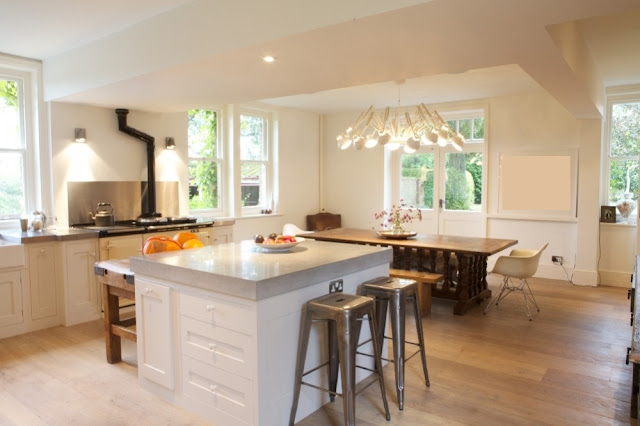 Cuisine style shabby chic for Cuisine style cottage